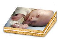 Tortenaufleger Fototorte Zuckerbild 20 x 28 cm ... mit Wunschtext & eigenem Foto