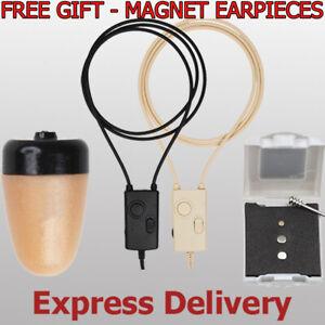 NEW Secret GSM SPY Earpiece Earphone Invisible Earbug Smallest Wireless