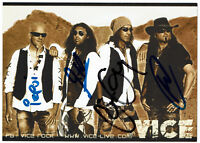 Vice - original signierte Autogrammkarte - HEAVY METAL -- hand signed