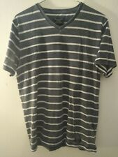 Abercrombie & Fitch Men's Medium T Shirt M Gray Fitted Tee