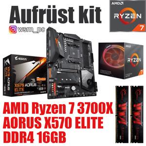 AMD 🆁🆈🆉🅴🅽 7 3700X ● AORUS X570 Mainboard ● 16GB RAM ● Ryzen PC Bundle Kit