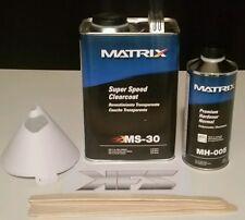 MS-30 GALLON MATRIX SYSTEM CLEARCOAT SPEED CLEAR + HARDNER SETUP KIT GAL