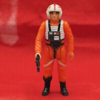 Vintage Star Wars Luke Skywalker X Wing Pilot Action Figure w/ Weapon