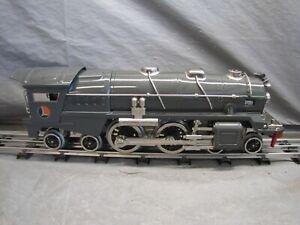 Lionel Standard Gauge 400E Gray Locomotive w/Nickel Protosound 2.0 #11-1002-1