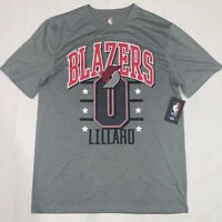 NBA Portland Blazers Damian Lillard #0 Dri-Fit T Shirt NWT NBA Licensed