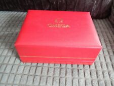 Vintage Omega WAtch Box Red