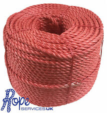 14mm x 220 mts, Red Poly Rope Coils,Polyrope,Polypropylene,Agriculture,Camping