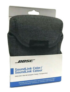 New Bose SoundLink Carry Case Pouch Only NO SPEAKER 730088-0010 Color Gray