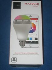 PLAYBULB Color Smart LED Light Bulb Mobile APP Controlled with Bluetooth Speaker