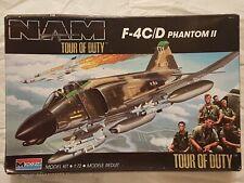 """Monogram 5451 F-4C/D Phantom II """"Tour of Duty"""" 1:72 Neu und eingetütet"""