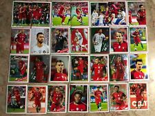 Full collection.Portuguese national team stickers and historical moments.PANINI