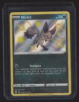 Nickit Shining Fates Shiny Vault SV081/SV122 Holo Rare Pokémon Card Pack Fresh