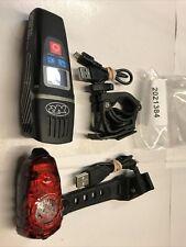 NiteRider Lumina 1200 OLED Boost + Solas 250 Bicycle Headlight &Taillight Set