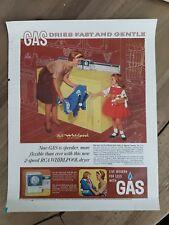 1963 RCA whirlpool yellow gas washing machine washer dryer ad