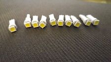 10x White SMD LED Dash Board Wedge Instrument Panel Light Bulb T5 73 74 Fits GMC