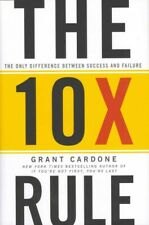 10X Rule : The Only Difference Between Success and Failure, Hardcover by Card...