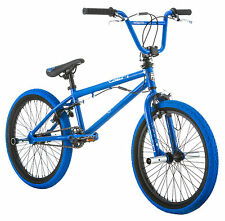 "20"" Mongoose Boy's Rive BMX Freestyle Bike, Blue"