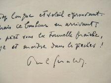 Quatrain de Paul Géraldy.