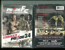 PRIDE FC - KAMIKAZE 34 (DVD, 2008) BRAND NEW SEALED - FREE SHIPPING