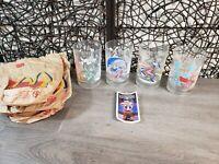 "1996-WALT DISNEY WORLD ""REMEMBER THE MAGIC"" 25th ANNIVERSARY McDONALD'S GLASSES"