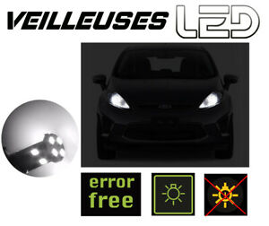 FORD MONDEO 3 - 2 Ampoules LED Blanc Veilleuses Feux Position  anti erreur