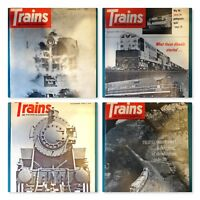 1964 Trains : The Magazine of Railroading. Full Year - 12 Issues