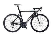 Bianchi Aria Ultegra 11v Compact Bicicletta da Triathlon - Nera/Argenta
