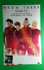 NEON TREES HABITS ANIMAL AND 1983 BAND PHOTO BAND 11x17 MUSIC POSTER