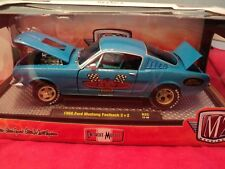 M2 Machines 1966 Ford Mustang Fastback 2+2  NIB  1:24 Scale 1/5,880  made