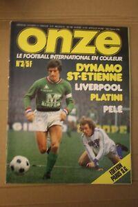 /! Attention Collector /! FOOTBALL ONZE n° 3 Mars 1976 la grande époque!