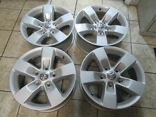 "17"" DODGE RAM 1500 LARAMIE OEM FACTORY STOCK WHEELS RIMS SILVER"