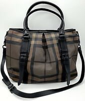 BURBERRY -  RARE - SMOKED BLACK - X-LARGE TOTE - GENTLY LOVED - Shoulder Bag