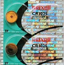 2PC MAXELL CR1025 Micro Lithium Coin Cell Battery