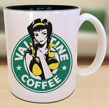 Faye Cowboy Bebop Starbucks Anime Manga Japanese Insipred Cartoon Geek Nerd Mug