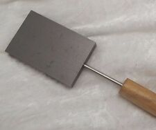 """Graphite Paddle Lampworking Glass Blowing 3 x 2"""" Head Supplies Tools Shaping"""