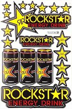 Rockstar Energy Sticker Motocross Enduro Race Motorcycle Bike Helmet Decal R-11