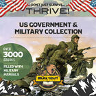 U.S. MILITARY & GOVERNMENT MANUALS  4000+ complete manuals; Special Ops, Guns..