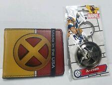 Marvel X-Men Logo Wallet & keyring Set