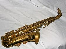 1947 Conn 6m Alto Sax/Saxophone, Original Laquer, Rolled Toneholes, Plays Great!
