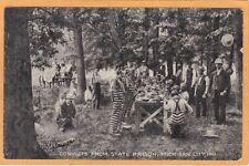 Social History Postcard - Convict Prisoner State Prison Michigan City Indiana