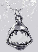 COOL New Sterling Silver .925 Jewelry Jaws SHARK Tooth Charm Pendant