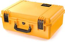 Yellow iM2600 No Foam. Pelican / Storm. & Tsa Lock