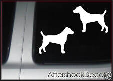 Jack Russell Dog Sticker Decal Pair