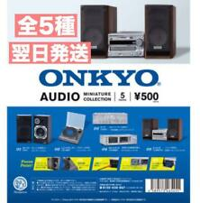 ONKYO MINIATURE COLLECTION 5 PCS Set