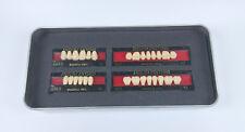28Pcs SHOFU ENDURA Full Denture False Tooth Resin Fake Teeth M28 A2 Upper+Lower