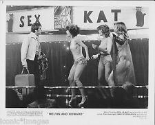 ORIGINAL 1980 PHOTO-MELVIN AND HOWARD - PAUL LE MAT - MARY STEENBURGEN