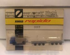 Vintage Arnold Rapido N Scale Accessories Truck and Flat Car  MOC