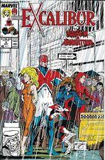 Excalibur Comic Issue 8 Mayhem In Manhattan Marvel Copper Age First Print 1989