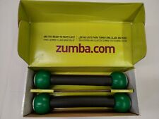 Zumba 1 lb Toning Sticks Shaker Weights (Set of 2) New In Box ~ Free Shipping