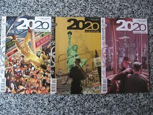 2020 VISIONS VERTIGO COMICS JAMIE DELANO 12 ISSUES COMPLETE !